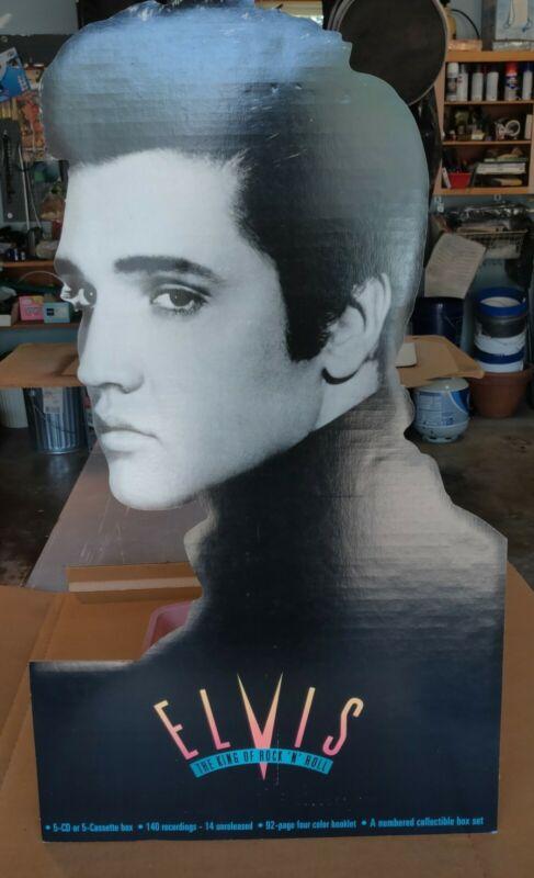 Elvis Presley Easel Back Standee Promo Store Display 1993