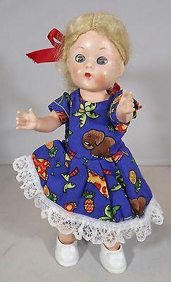 Vintage 1950s 18cm Roddy Hard Plastic Blonde Girl Doll