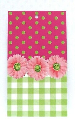 200 Hang Tags Accessories Tags Cute Pink Flowers Tag Clothing Tags