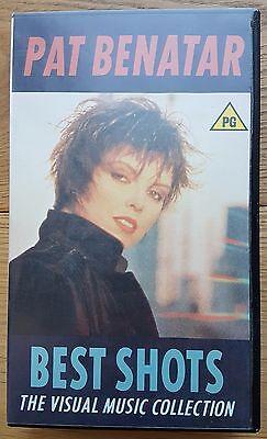 PAT BENATAR - BEST SHOTS - The Visual Music Collection 1987 VHS Chrysalis