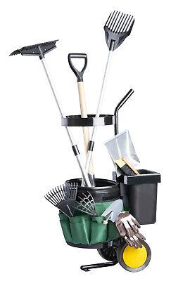 Upp Garten-Werkzeug-Trolley Garden Trolley Tool Wheelbarrow Tool Holder