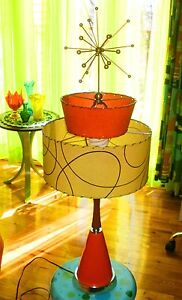 Atomic Era Danish Modern Classic Table Lamp   Rare and Last Call!