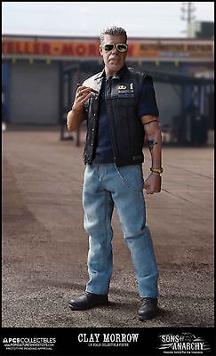 SONS of ANARCHY: CLAY MORROW 1/6 Action Figure 12″ POP CULTURE SHOCK