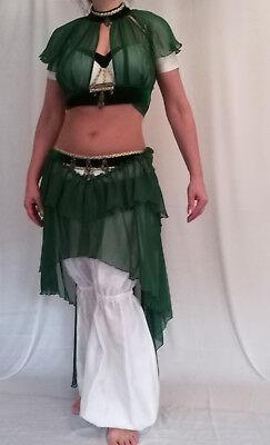 Profi Designer Bauchtanzkostüm, Tribal, außergewöhnlich, Unikat, Gr. - Designer Tanz Kostüm