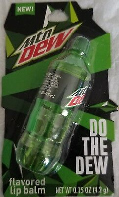 Mountain Balm (Mountain Dew bottle shaped lip balm)