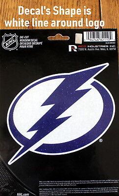 Tampa Bay Lightning Lic. NHL Die Cut Window Decal colorful Hockey Car Sticker Tampa Bay Lightning Window