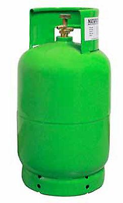 Kältemittel R410a 10kg Füllgewicht Neu befüllt Eigentumsflasche pfandfrei GAS