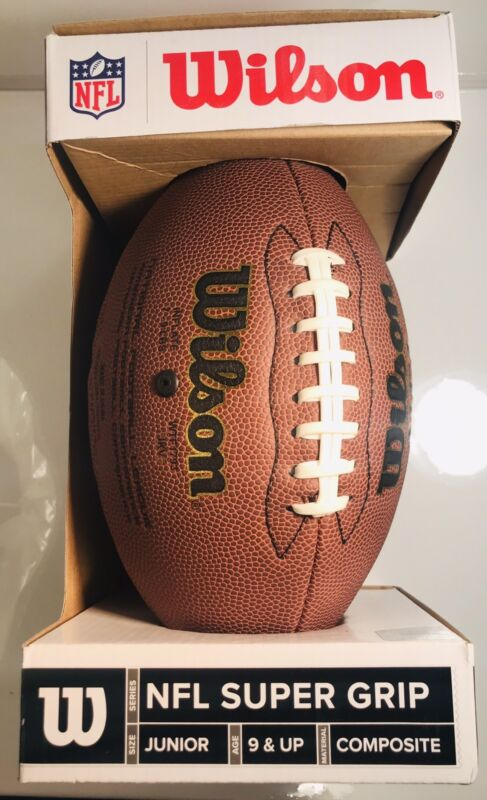 Wilson NFL Supergrip Composite Junior  Football WTF1793