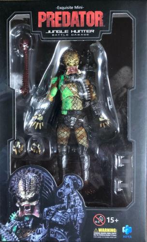 Hiya Toys Predator Battle Damage Jungle Hunter Predator 1:18 Scale Action Figure