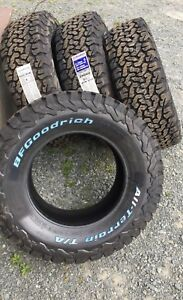 4- LT 265/70R17 BFG All Terrain KO2