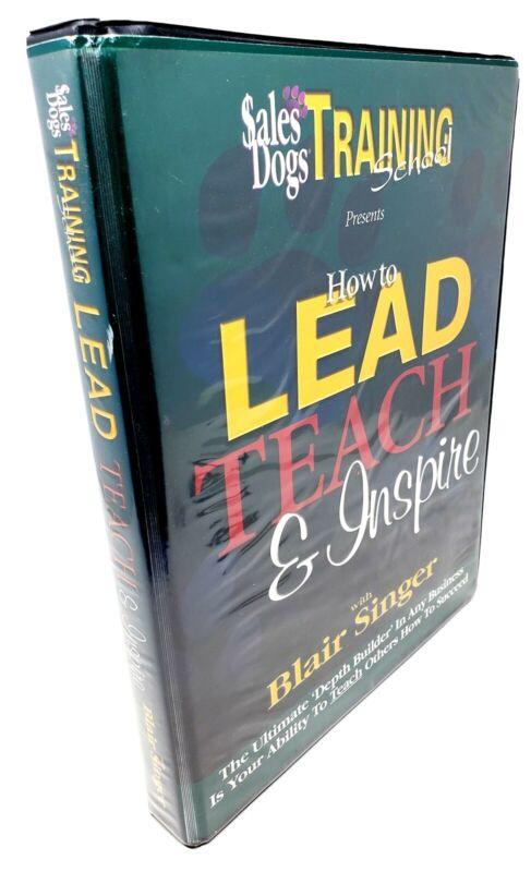 How to Lead, Teach, & Inspire - Sales Dogs Training School - Blair Singer CD Set