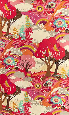 Herbstbaum mit Regenbogen 59 x 11o cm Bunt von Moda Patchwork Stoff