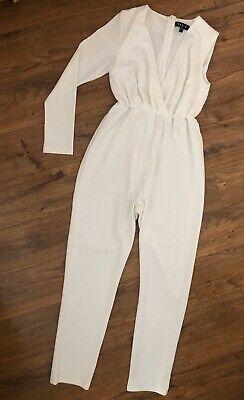 White jumpsuit size 8