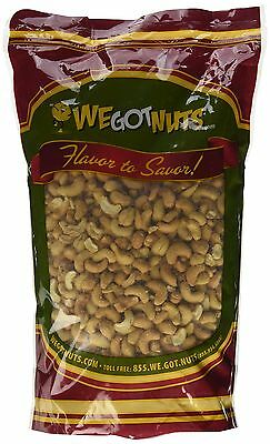 Whole Cashews - Roasted Cashews Whole (Salted) 5LB Bag Bulk