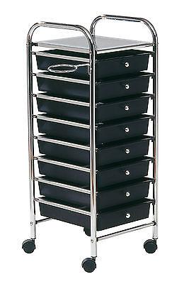 Arbeitswagen Friseurwagen Stapelboy Salonhilfe Comair Storage  8 Schubladen  #0