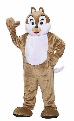 DELUXE PLUSH CHIPMUNK MASCOT ADULT HALLOWEEN COSTUME STANDARD SIZE ALWAYS