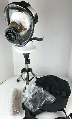 Mestel Sge-150 M L 40mm Gas Mask Respirator Msa Filter Drop Leg Pouch Bag