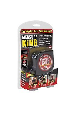 Measure King 3 In 1 Digital Tape Measure String Sonic Roller Mode Laser Roller