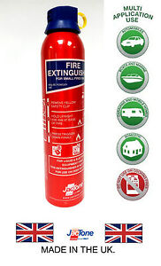 Fire-Extinguisher-Ideal-for-Caravan-Home-Office-Car-Taxi-950G-BC-Powder