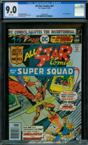 All-Star Comics 61 CGC 9.0 - White Pages