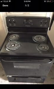 "30""w black Coil STOVE perfect condition /can Deliver"
