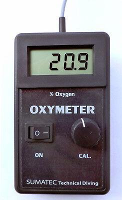 Sauerstoff-Prüfgerät | Oxygen-Tester | O2 Gehalt in Nitrox-Trimix-Mixgas gebraucht kaufen  Berlin