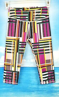 FABLETICS Womans Multi-Color Athletic Workout YOGA Pants CAPRI Leggings size XS