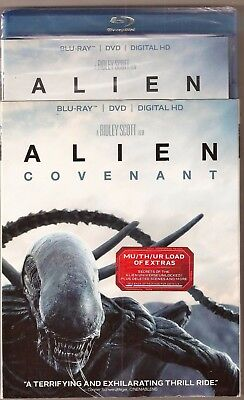 Alien Covenant Blu Ray   Dvd   Digital Hd Brand New With Slip Cover