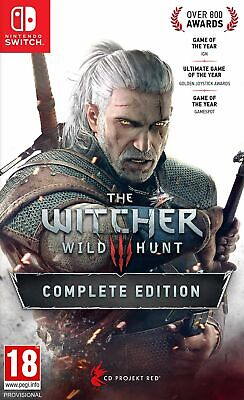 The Witcher 3 Wild Hunt Complete Edition (Switch) In Stock Now New Sealed