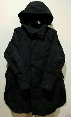 Y-3 YOHJI YAMAMOTO x ADIDAS Women's Black Travel Hooded Shirt Coat Jacket Small