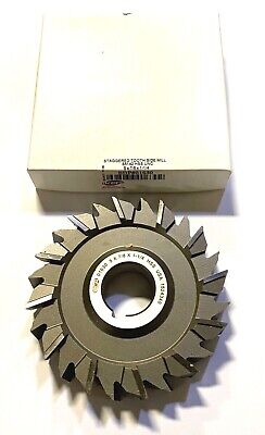 KR CUTTING TOOLS 4 X 9//32 X 1.1//4 X 24T High Speed Steel Straight Tooth Side Milling Cutters