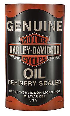 Harley-Davidson® Bar & Shield 3-D Genuine Oil Can Metal Wall Sign HDL-15511