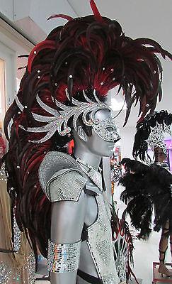Da NeeNa C061 Giant Iron Hero Men Male Warrior Alien Mohawk Indian Headdress - Giant Alien Costume