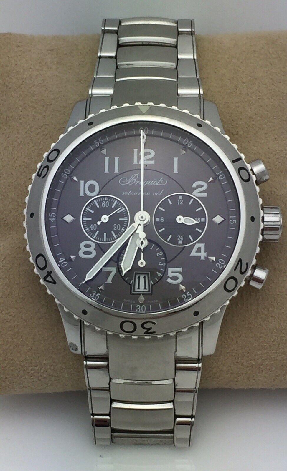 Breguet Transatlantique Type XXI Flyback Chronograph 3810 Mans Watch - watch picture 1