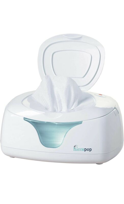 hiccapop Baby Wipe Warmer and Baby Wet Wipes Dispenser with Changing Light
