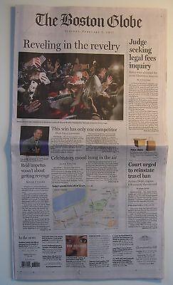 New England Patriots Super Bowl Li Reveling In The Revelry Boston Globe