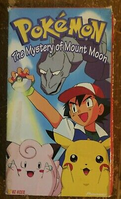Pokemon Vol. 2: The Mystery Of Mount Moon (VHS, 1999), Good Condition