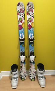Skis et bottes enfants