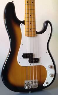 Fender Precision Bass '57 Reissue CIJ Two Tone Sunburst