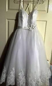 Wedding Dress - Tea Length Kurrajong Hawkesbury Area Preview