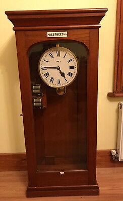 Good Quality Large Teak Cased GENTS Liquid Level Recorder Clock or SIMILAR TYPE?