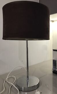 Glass table lamps table desk lamps gumtree australia gold table lamp brown suede shade aloadofball