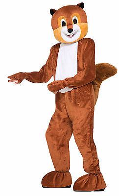 Adult Scamper the Squirrel Mascot Costume Full Body Animal Suit Size - Full Body Animal Costume