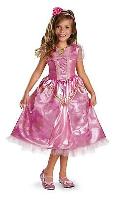 Aurora Sleeping Beauty Sparkle Disney Princess Costume Toddler Costume 3T-4T - Princess Aurora Costume Toddler