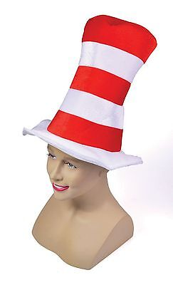 Cat in the Hat World Book Week Character Fancy Dress Kids Adult Costume