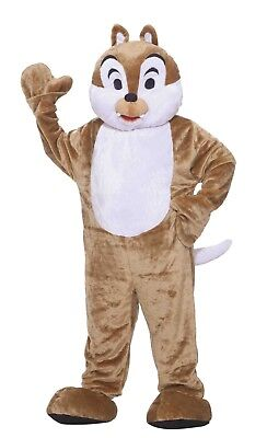 Costume MASCOT Event Character Waver CHIPMUCK Dlx Adult Size NEW Washable - Adult Character Costumes