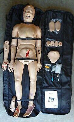 Laerdal Medical Manikin Patient Trauma Simulator Simman