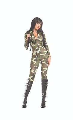 sexy BE WICKED tantalizing TROOPER army MILITARY soldier RAMBO halloween - Rambo Halloween Costumes