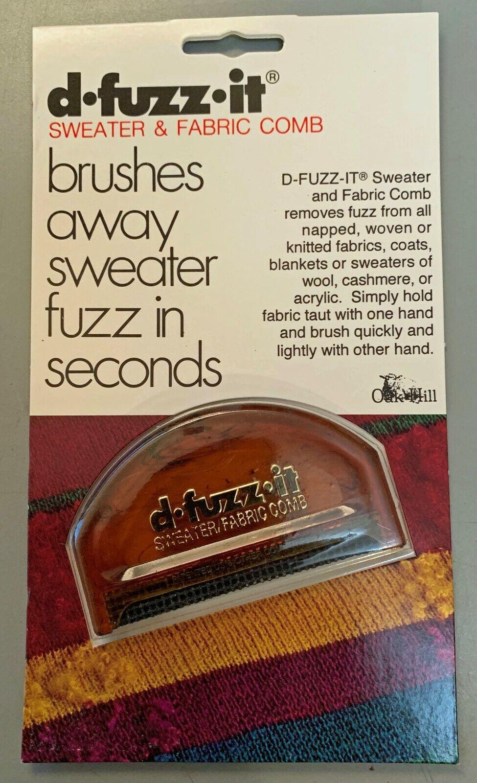 d-fuzz-it, Sweater & Fabric Comb