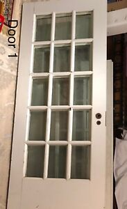 Vintage French Door.   Solid wood